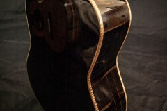 Ebony Tenor with Myrtle Binding