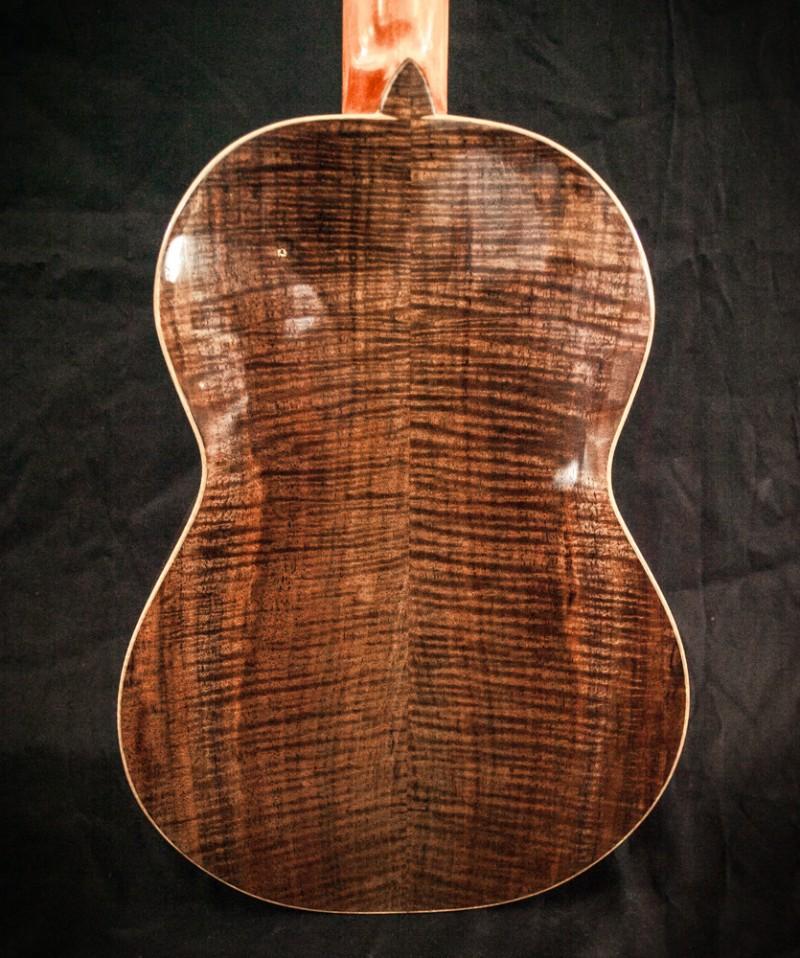 Black Walnut w/ Myrtle Binding Baritone $3000