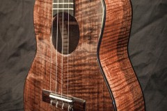 Black Walnut Tenor with Ebony Binding