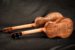 Black Walnut Tenor and Baritone